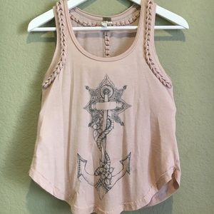 We The Free Free People Anchor Tank Top